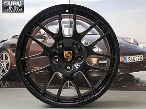 Диски RS Spyder black на Porsche Panamera