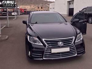 Рестайлинг Lexus LS в 2013 +