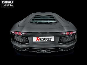 Выхлопная система Akrapovic для Lamborghini Aventador LP 700-4 Coup?/Roadster 2016