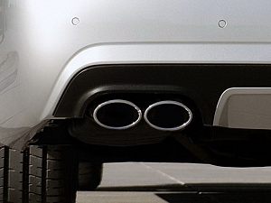 AMG насадки на глушители для Mercedes S63 AMG (W221)
