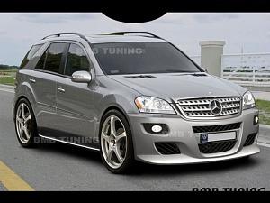 BMB для Mercedes-Benz ML-class (W164)