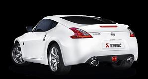 Выхлопная система Akrapovic для Nissan 370Z 2015