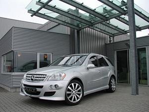 Выхлопная система ART для Mercedes ML-Class (W164)