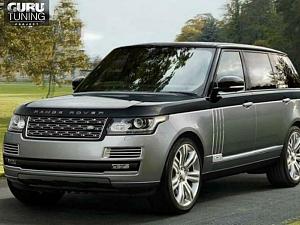 Решетка радиатора Autobiography для Range Rover