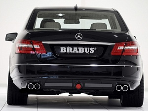 Выхлоп BRABUS для Mercedes-Benz E-class (W212)