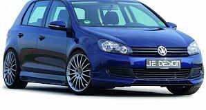 Выхлопная система Je Design для VW Golf VI