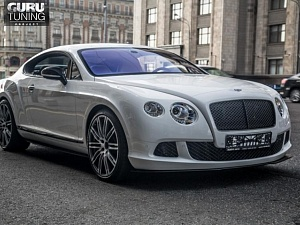 BENTLEY RESTAYLING WHITE MULLINER