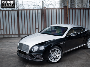 Рестайлинг Bentley GT 2008 в Bentley GT Speed 2016