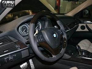 Тюнинг салона BMW X3 (E83)