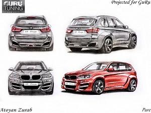 Индивидуальный дизайн для BMW X5 F15/F85