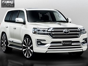 Обвес Double Eight для Toyota Land Cruiser 200 2015 -
