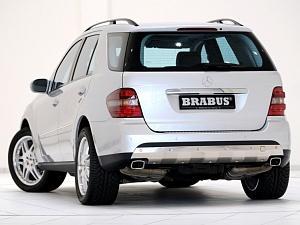 Выхлоп BRABUS для Mercedes-Benz ML-class (W164)