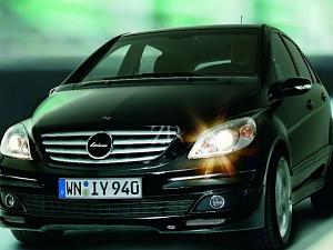 Выхлопная система от Lorinser для Mercedes B-class (W245)