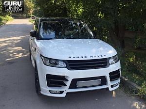 Range Rover Sport STR ver.2 White