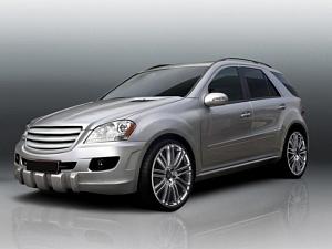 Обвес для Mercedes-Benz ML-class (W164)