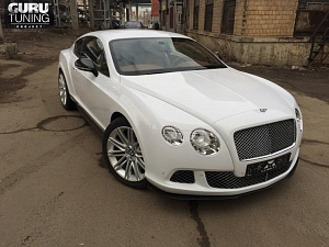 Рестайлинг Bentley Continental GT 2013 carbon edition