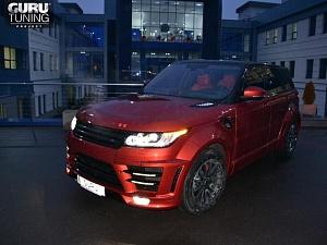 Lumma CLR RS Range Rover Sport