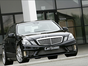 Выхлоп Carlsson для Mercedes E-Class (W212)