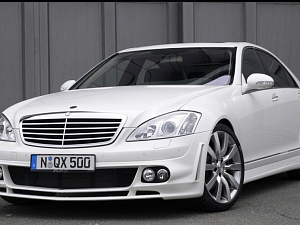 Выхлопная система от A_R_T для Mercedes S-Class (W221)