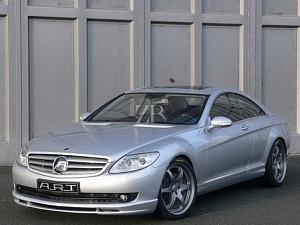 Аксессуары от A_R_T для Mercedes CL-Class (W216)