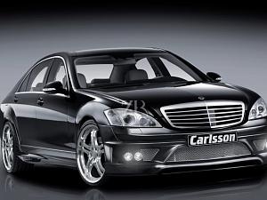 Выхлопная система Carlsson для Mercedes S-Class (W221)