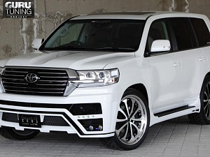 MZ Speed Zeus Luv Line для Toyota Land Cruiser 200 2015 - (оригинал)