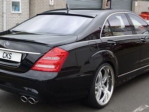 Выхлопная для Mercedes S-class (W221) от CKS