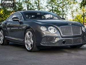 Рестайлинг Bentley Continental GT с 2012 в 2016 год