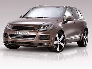 JE Design выхопная система для Volkswagen Touareg 7P R-Line