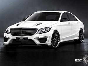 GSC для Mercedes S-Class (W222)
