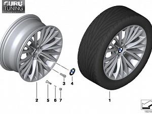 Диски BMW дизайн 293 для BMW Z4 E89