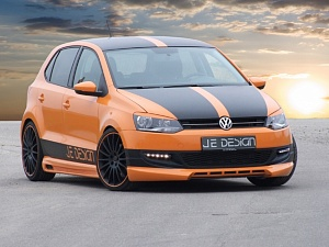 Выхлопная система JE Design для VW Polo