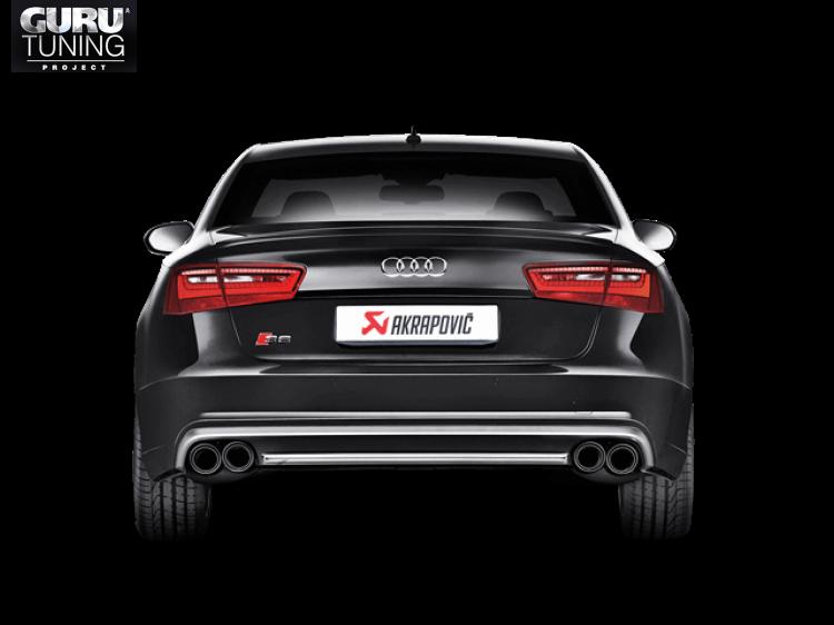 Выхлопная система Akrapovic для Audi S6 Avant/Limo (C7)