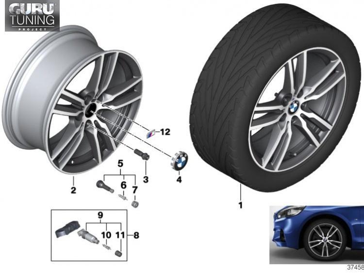 Диски BMW дизайн 486M для BMW 2-series Active Tourer F45