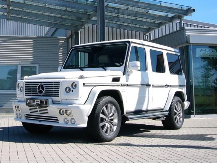 Чип Тюнинг A_R_T для Mercedes G-Class