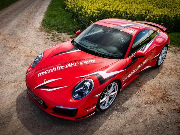 В Mcchip-DKR усилили Porsche 911 Carrera S FL