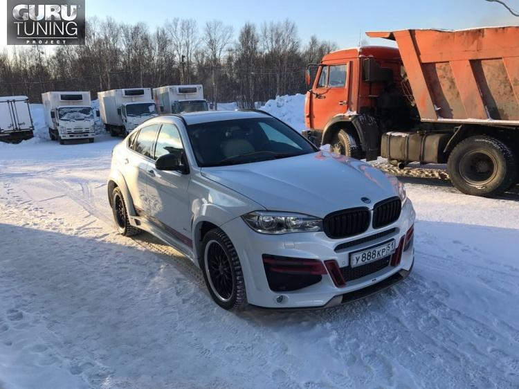 BMW X6 F16 LUMMA CLR X6 R from Murmansk