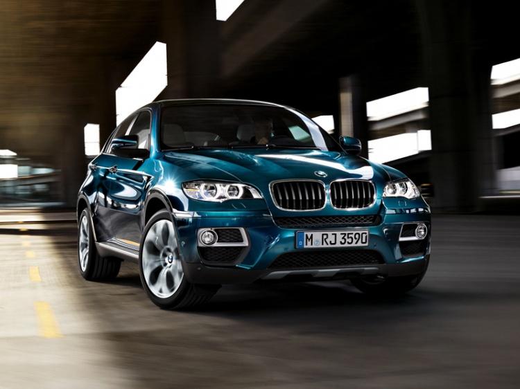 Рестайлинг BMW X6 в 2013