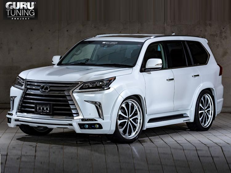 Обвес MZ Speed для Lexus LX570 2015-