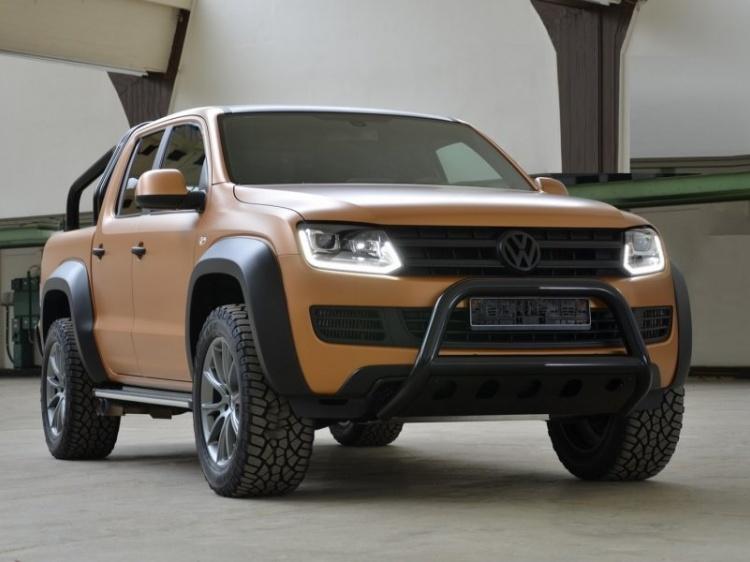 Тюнинг Volkswagen Amarok для бездорожья от MTM