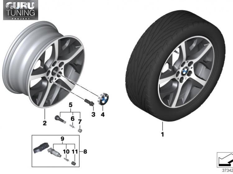 Диски BMW дизайн 480 для BMW 2-series Active Tourer F45