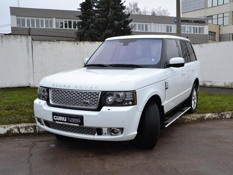 Видео о тюнинге Range Rover Autobiography Limited Edition