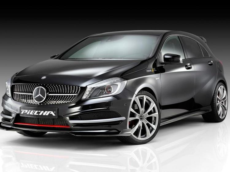 Mercedes A-Class с тюнингом от Piecha Design