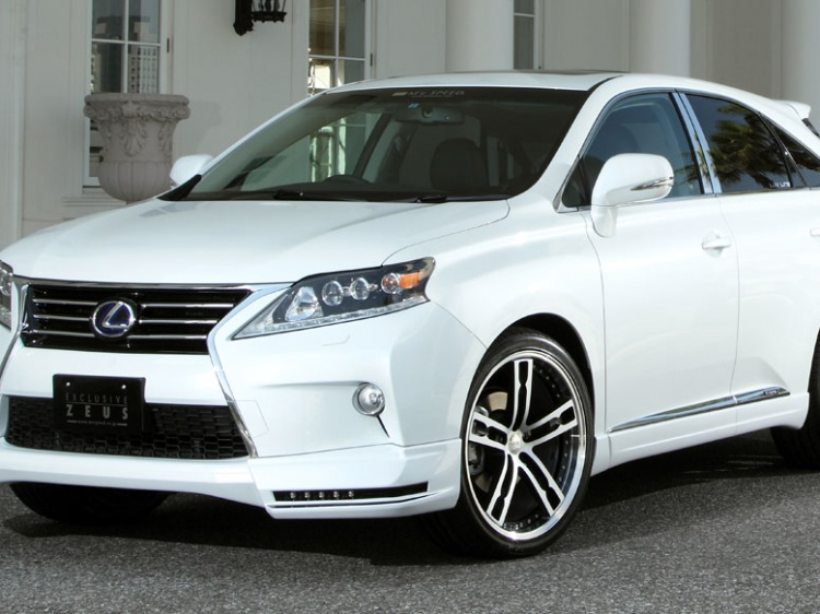 M'z SPEED EXCLUSIVE ZEUS Body Kit для LEXUS RX