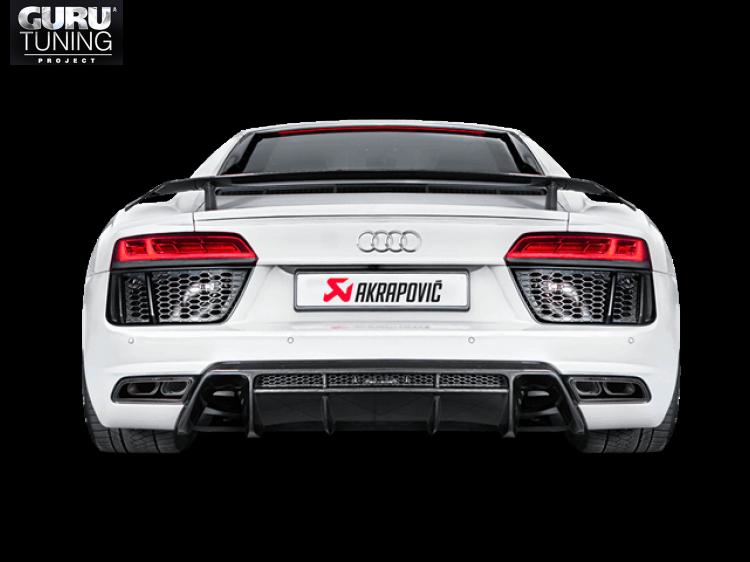 Выхлопная система Akrapovic для Audi R8 5.2 FSI Coup?/Spyder 2016