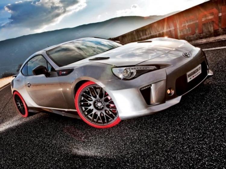 Ателье Marangoni представило миру Toyota GT86-R Eco Explorer