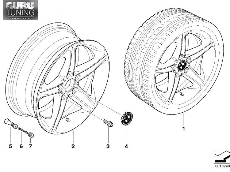 Диски BMW  дизайн 264 для BMW 1-series (E81/E87)