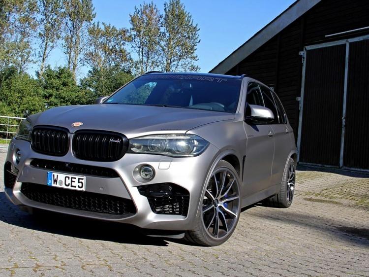 Manhart сделали BMW X5 M 700-сильным