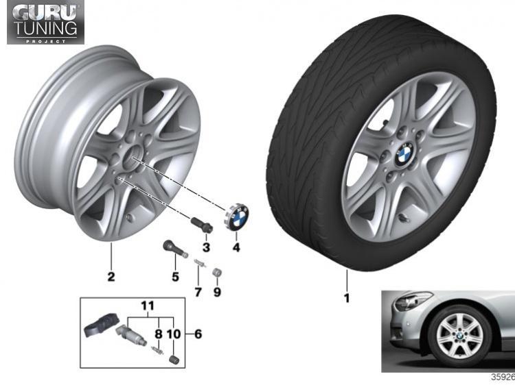 Диски BMW дизайн 377 для BMW 2-series F23