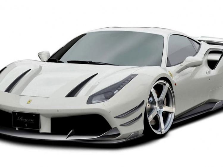 В Rowen International создали боди-кит для Ferrari 488 GTB